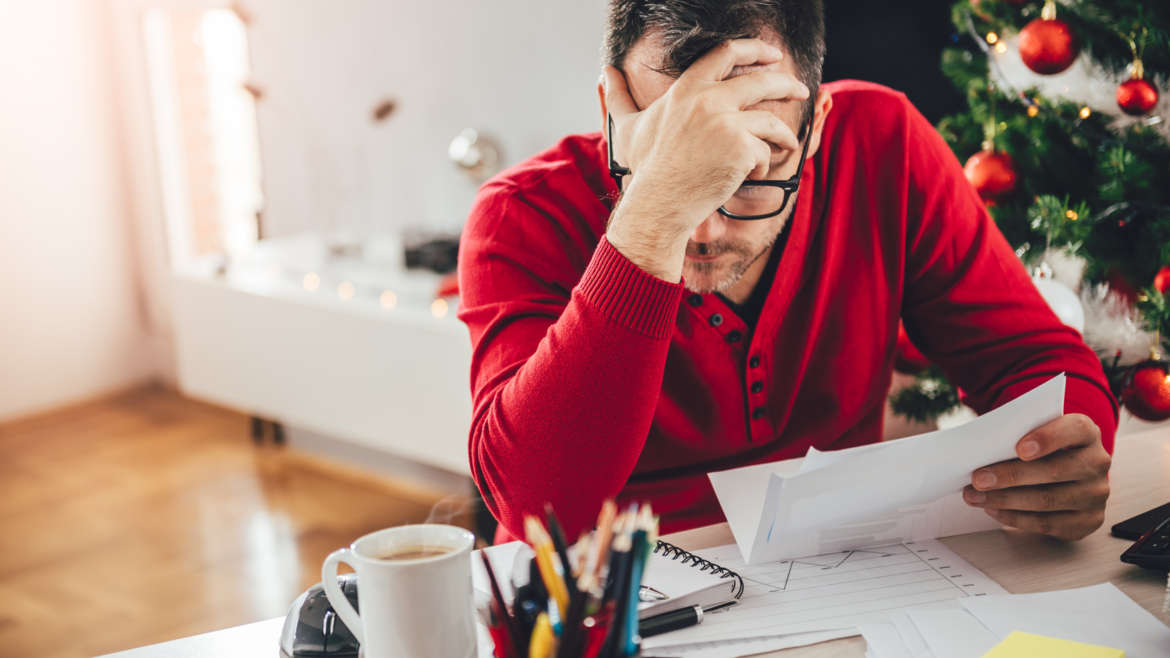 How to handle post Holiday Debt